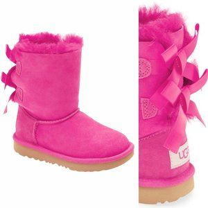 UGG Bailey Bow Girl's Water Resistant Boot Ribbon
